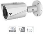 "VDT-TC2523E: IR camera HDCVI da esterno/interno IP67, sensore progressivo 1/2.7"""" CMOS da 2Mp"""