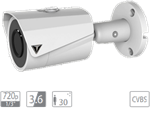 "VDT-TC1523: IR camera HDCVI da esterno/interno IP67, sensore progressivo 1/3"""" CMOS da 1.3Mp"""