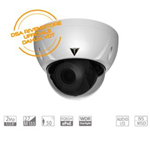 VDT-MH2885U: Telecamera Dome IP Mp, Ottica Varifocal Motorizzata 2.7~13.5mm, IR50mt, H265+, ePoE. WDR, Starlight, Audio I/O, IVS, MSD, IP67 IK10