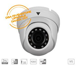 VDT-MH2653: Telecamera Dome IP 2Mp, Fissa 2.8mm, IR30mt, H265, WDR, IVS, IP67