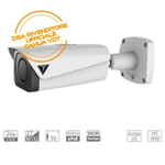 VDT-MH2585U: Telecamera IP Bullet 2Mp, Ottica Motorizzata Varifocal 2.7~13.5mm, IR50mt, H265+, ePoE, WDR, Starlight, Audio I/O, IVS, MSD, IP67 IK10