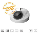 VDT-MH2982A: Telecamera Dome IP 2Mp, Fissa 2.8mm, IR20mt, H265+, WDR, Starlight, Micorofono Integrto IVS, MSD, IP67 IK10