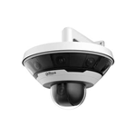 PSD81602-A360: Telecamera Panoramica Dahua 360° completa di 8 telecamere IP da 2Mp e di speed dome 37x da 2 Mp, analisi video a bordo, IP67, IK10